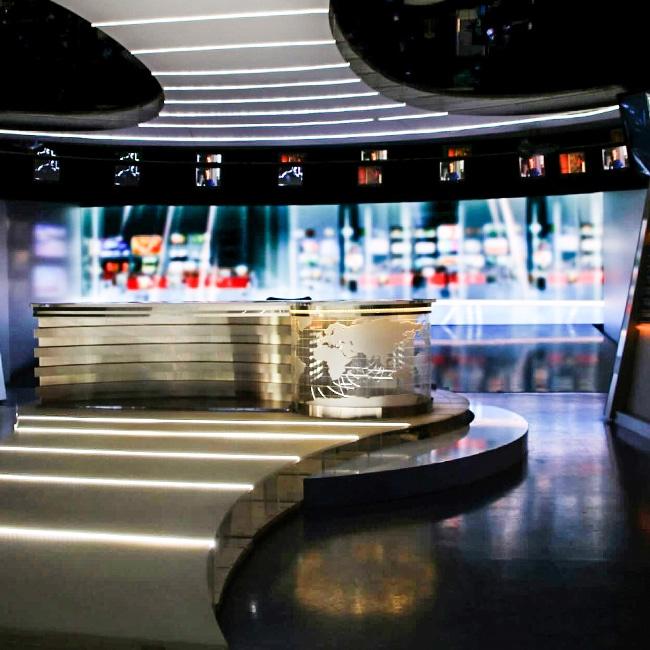 ciana wideo LED P1.9 dla Studia Telewizyjnego TVP PANORAMA mala - TDC Polska - ekrany led wewnętrzne