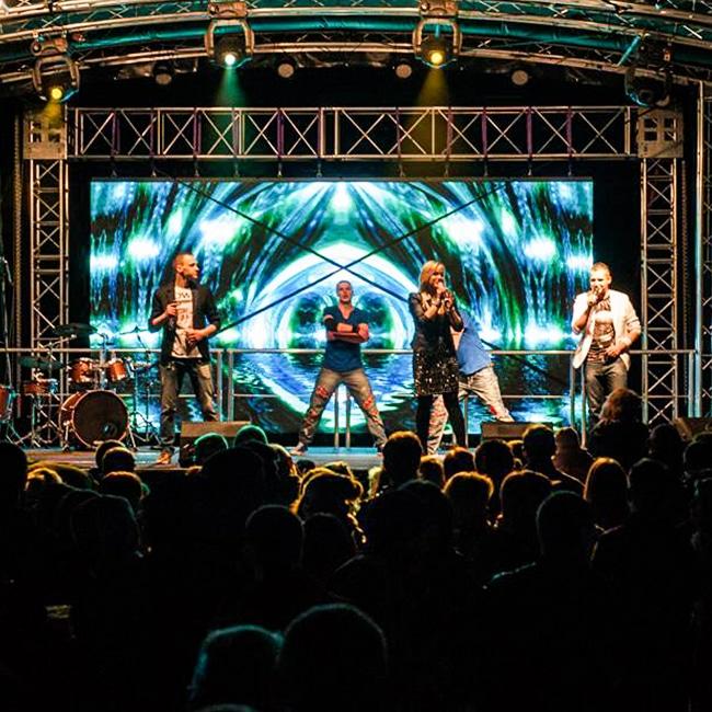 Mobilne ekrany sceniczne dla Ośrodka Kultury i Sportu w Prusicach