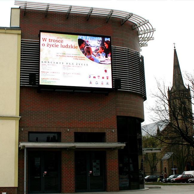 Telebim dla Teatru w Inowrocławiu