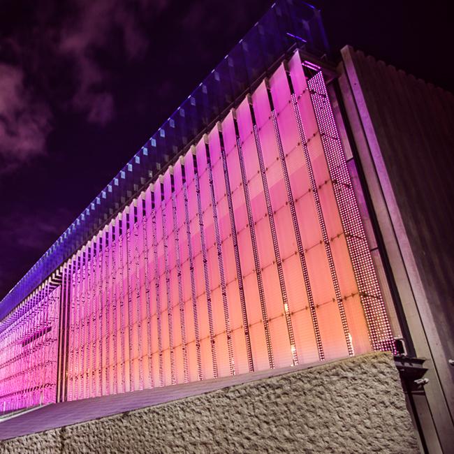 Fasada Świetlna LED