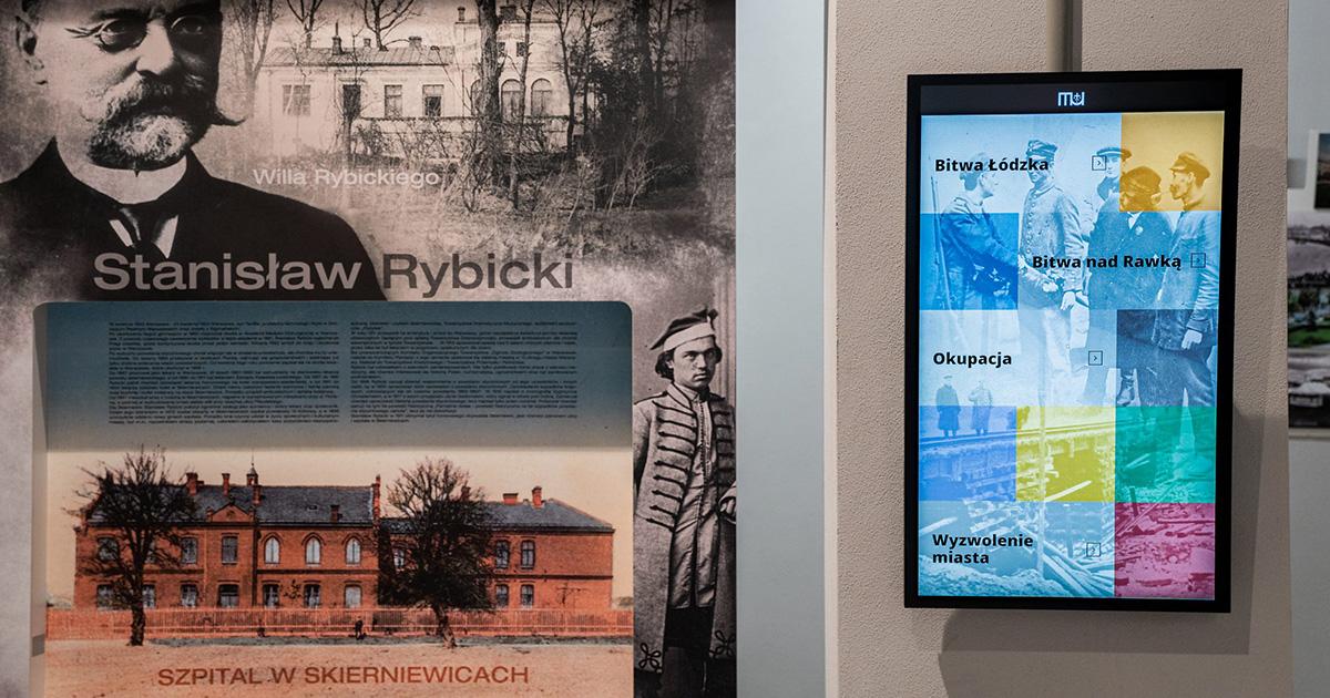 Kiosk Multimedialny w muzeum w Skierniewicach | © TDC Polska