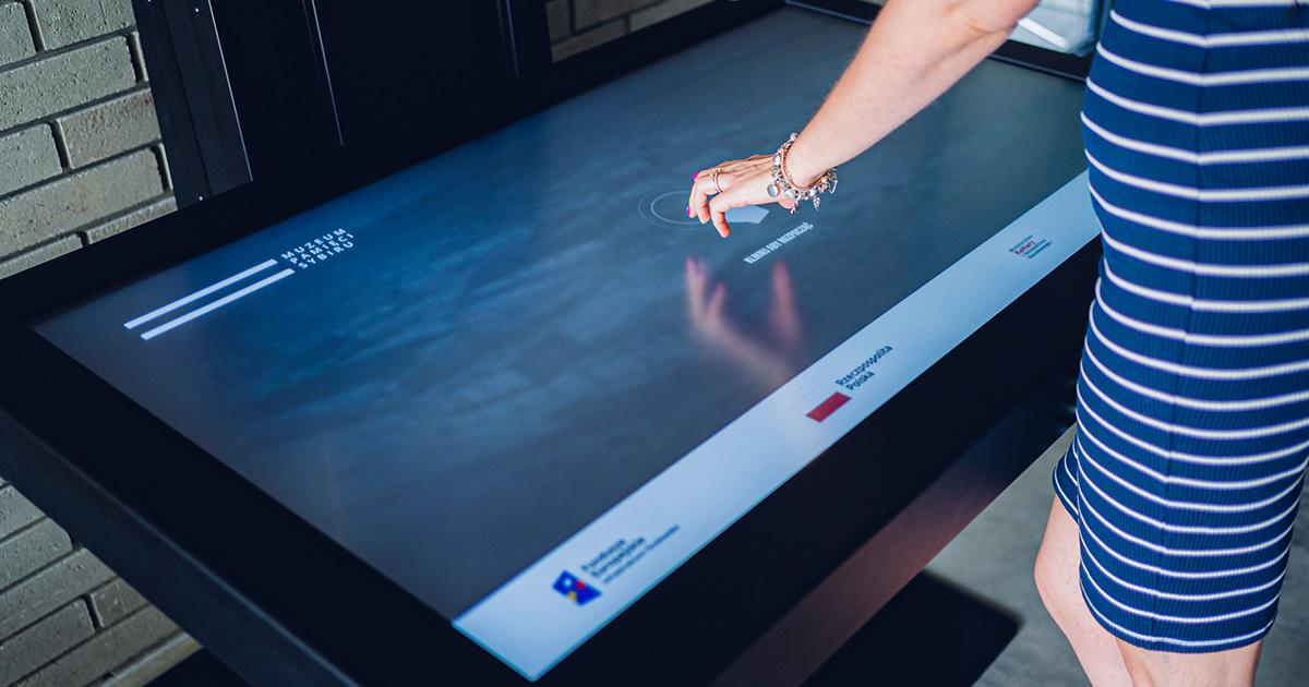Kiosk Multimedialny w Muzeum Pamięci Sybiru | © TDC Polska
