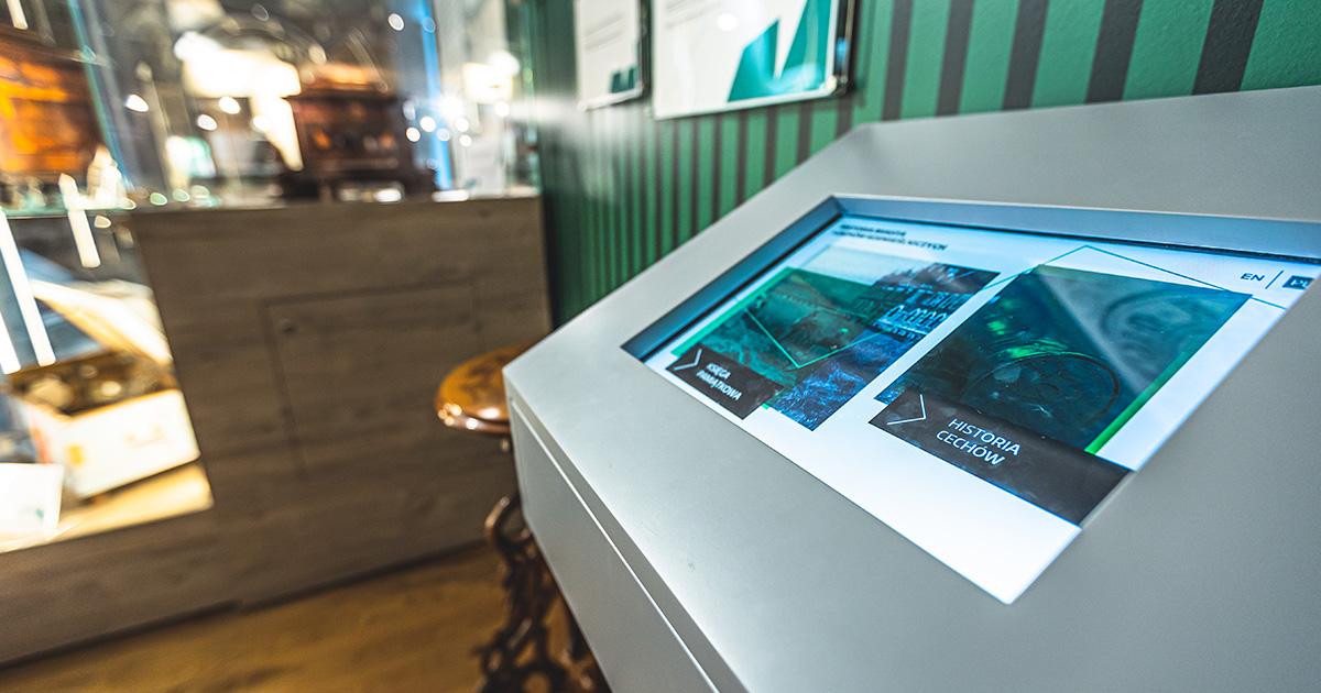 Kiosk Multimedialny w Muzeum w Myślenicach | © TDC Polska