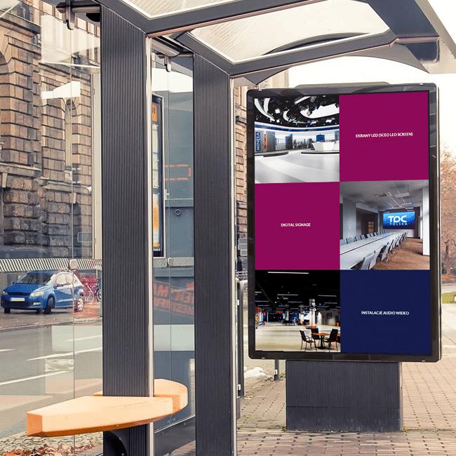 Digital Signage w komunikacji miejskiej