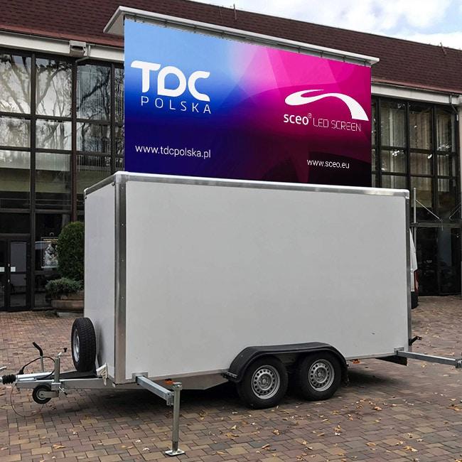 Mobilny ekran LED dla Bielskiego Centrum Kultury